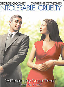 Intolerable Cruelty (DVD, 2004, Widescre...