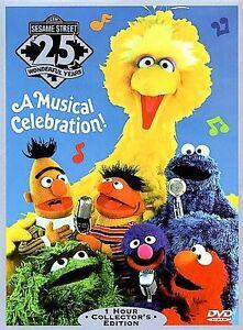 Sesame Street's 25th Birthday: A Musical Celebration (DVD, 1997)