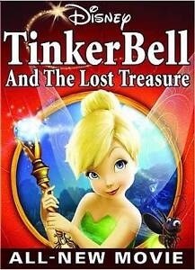 Tinker-Bell-And-The-Lost-Treasure-DVD-2009-Brand-New