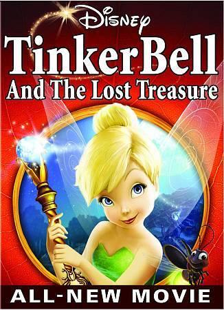 Tinker Bell & Lost the Treasure [DVD] [2009] [Region 1] [US Import] [NTSC]
