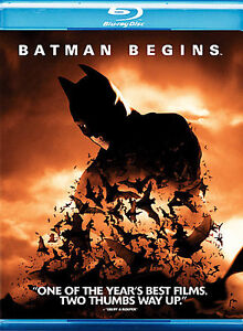 Batman Begins (Blu-ray Disc, 2008)