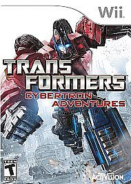 NEW-WII-TRANSFORMERS-CYBERTRON-ADVENTURES-NINTENDO-RESALE-LOT-OF-2