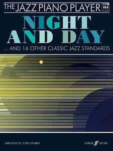 The Jazz Piano Player Night and Day Book CD Sheet Music Intermediate B82