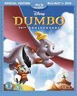 Dumbo (Blu-ray/DVD, 2010, 2-Disc Set, UK 70th Anniversary)