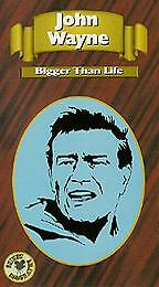 John Wayne: Bigger Than Life (VHS, 1991)