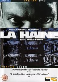 La Haine DVD (2001) Vincent Cassel  near new condition z13
