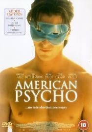 American Psycho DVD 2000 - Lancaster, United Kingdom - American Psycho DVD 2000 - Lancaster, United Kingdom