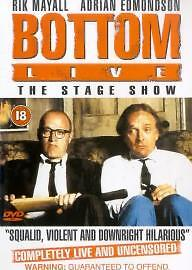Bottom-Live-The-Stage-Show-RIK-MAYALL-RARE-UK-RELEASE-DVD