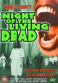 Night Of The Living Dead 1968 DVD George Kosana S William - <span itemprop='availableAtOrFrom'>Shanklin, United Kingdom</span> - Night Of The Living Dead 1968 DVD George Kosana S William - Shanklin, United Kingdom