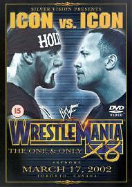 WWF - Wrestlemania X8 Dvd Brand New & Factory Sealed