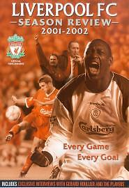 Liverpool FC DVD Season Review 2001/2002 DVD lfc 01/02