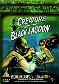 Creature From The Black Lagoon DVD  FREE UK PP - BENFLEET, Essex, United Kingdom - Creature From The Black Lagoon DVD  FREE UK PP - BENFLEET, Essex, United Kingdom