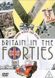 Those Were The Days - Britain In The 1940s (DVD, 2004)