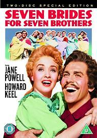 Seven Brides For Seven Brothers 2-Disc Special Edition Dvd New & Factory Sealed