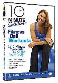 10 Minute Solution  Fitness Ball Workouts DVD 2009 - <span itemprop='availableAtOrFrom'>London, United Kingdom</span> - 10 Minute Solution  Fitness Ball Workouts DVD 2009 - London, United Kingdom