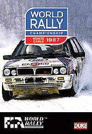 Monte Carlo Rally: 1987 5017559107932, DVD REGION 2, BRAND NEW FREE P&H