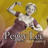 Peggy-Lee-Miss-Wonderful-2006-4CD-Box-Set-NEW-SEALED-SPEEDYPOST