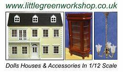 Little Green Workshop.Dolls Houses