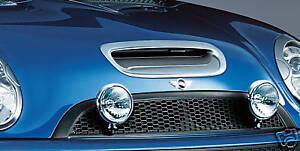 MINI-Cooper-S-02-06-Hardtop-03-08-Convertible-Chrome-Hood-Bonnet-Scoop-OEM-New
