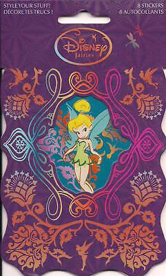 Disney's Fairies - Tinkerbell Sticker Set - 8 Stickers
