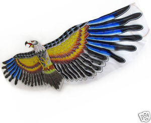 3D-Desert-Eagle-Kite-Toy-Hobby-Outdoor-Fun-Game-Handle-String-Included