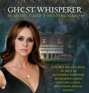Ghost-Whisperer-Seasons-3-amp-4-Trading-Card-Basic-Set