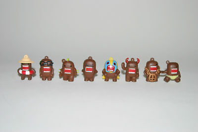 Domo Figures Figurines Set Of 8 Vending Machine Toy
