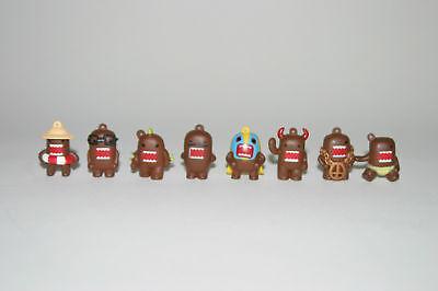 Domo Figures Figurines Set Of 8 Vending Machine Toy