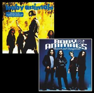 BABY ANIMALS (2 CD) S/T + SHAVED & DANGEROUS D/Remaster CD *NEW*