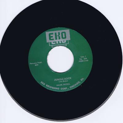 HANK MIZELL - JUNGLE ROCK / I'M READY - 2 HOT ORIGINAL 50s ROCKABILLY BOPS