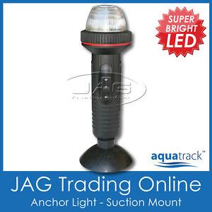 LED-PORTABLE-STERN-ANCHOR-NAVIGATION-NAV-WHITE-LIGHT-SUCTION-MOUNT