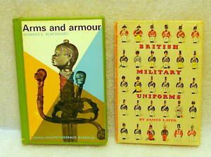 2-Arms-Books-British-Milit-Uniforms-Arms-amp-Armour