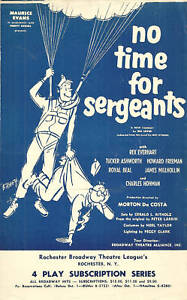 No-Time-For-Sergeants-ad-flyer-Rochester-NY-1950s