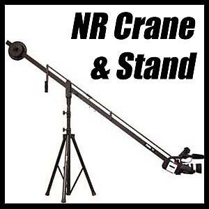 NEW-Pro-Am-ProAm-DVC200-Professional-DV-Camera-Crane-Jib-Boom-Stand-No-Reserve