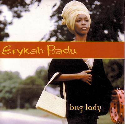Erykah Badu Bag Lady W  2 Rare Edits Card Sleeve Europe Cd Single Usa Seller
