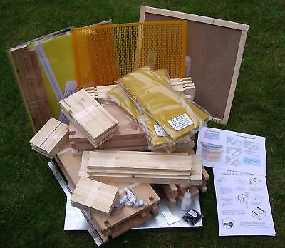 "National Bee Hive Beehive14""x12"" Brood Body, all frames/foundation, Cedar"