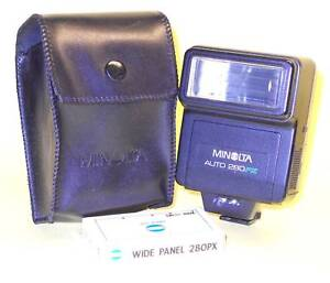 Minolta AUTO Electroflash 280PX in extremely good cond