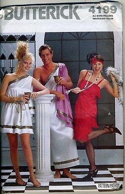 Romans & Flapper Costume Patterns - Xs-large (8-18)