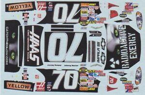#70 John Sauter Radioactive Drink 1//32 Slot Car Decals