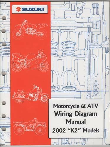 2002 Suzuki Motorcycle  U0026 Atv Wiring Diagram K2 Manual