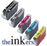 5-X-COMPATIBLE-INK-CARTRIDGES-FOR-CANON-MP830-MP950-MP960