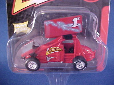 Sprint Car Outlaw Racer Diecast Collectible In Orig Pkg