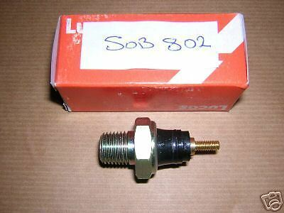 FORD TRANSIT 1.6 2.0 OHC PINTO 1978 ON OIL PRESSURE SWITCH  GENUINE LUCAS NOS