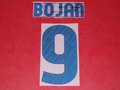 Flocage Officiel Bojan Away Barcelone 2010/2011