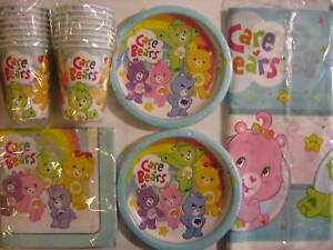 CARE-BEARS-Birthday-Party-Supply-Pack-Kit-for-16