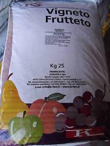 Concime frutteto vigneto kg25 orto prato giardino ebay - Concime per prato ...