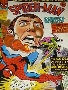 SPIDER-MAN-Comics-Weekly-No-132-Date-23-08-1975-UK-Comic