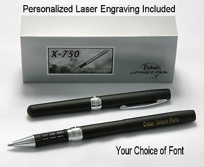 Fisher Personalized #X-750BK / X-750 Pen in Matte Black