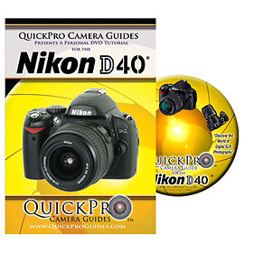 Nikon D40 Instructional DVD Camera Guide Manual Tutorial