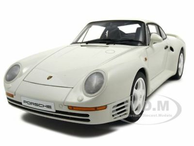 PORSCHE 959 WHITE 1:18 DIECAST MODEL CAR BY AUTOART 78083